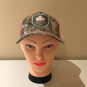 Realtree Camo Ladies Hat Cap Camo / Pink O…